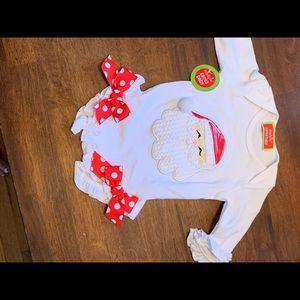 Santa onesie